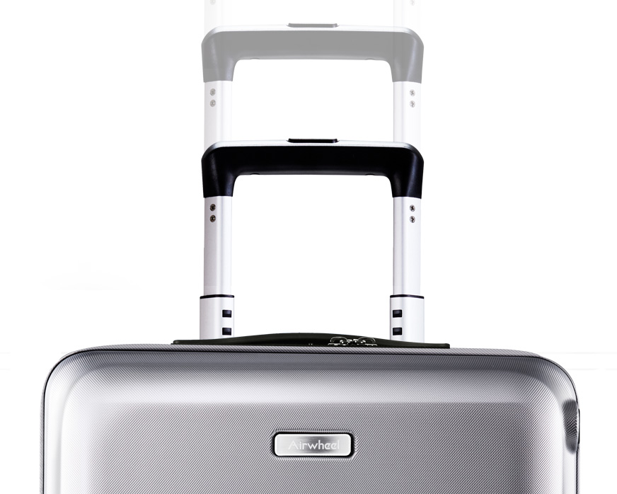 intelligent self-following suitcase