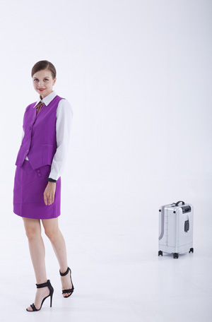 Airwhee1 SR5 intelligent self-driving suitcase